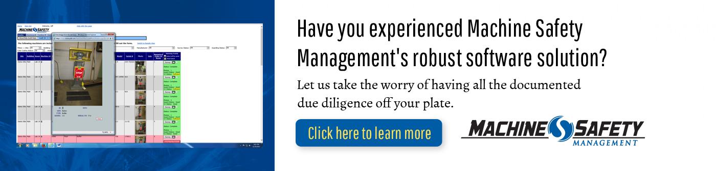 Machine Safety Management Robust Software Solution Image